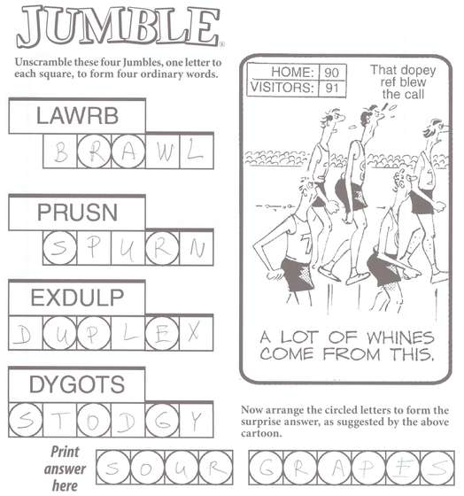 ... Puzzle All english words with given letters - jumble puzzle solver